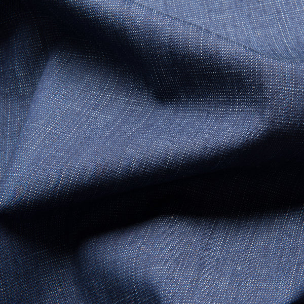 Barkweave Stretch Denim - Indigo - 1.15m Piece