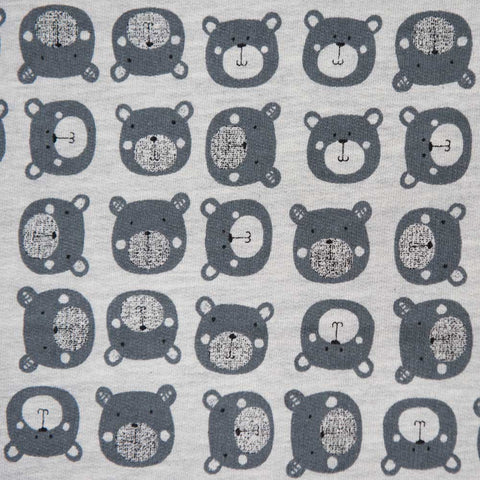 Bear Sweatshirt Jersey by Stof Fabrics