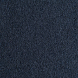 Boiled Wool - French Navy