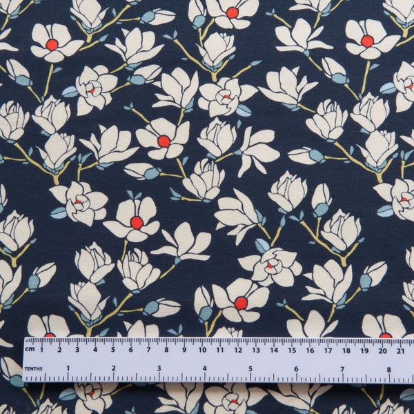 Art Gallery Fabrics -  Charleston Magnolia Nightfall Cotton Jersey