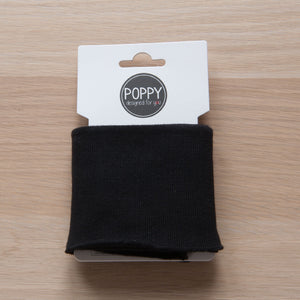 Cuffs 7cm in Black (Ready Made)