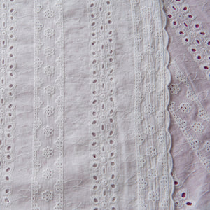 Lucy Broderie Anglaise in White