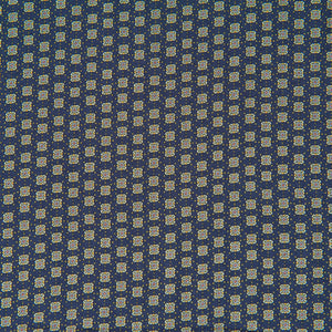 Navy Viscose Dressmaking Fabric with Small Pattern