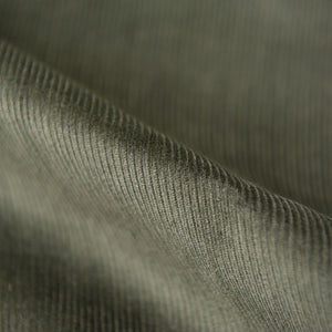 Olive Green Cotton Corduroy