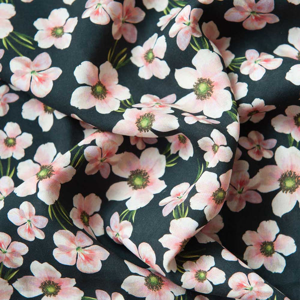 Lady McElroy Floral Chain Viscose - 1.5m Piece