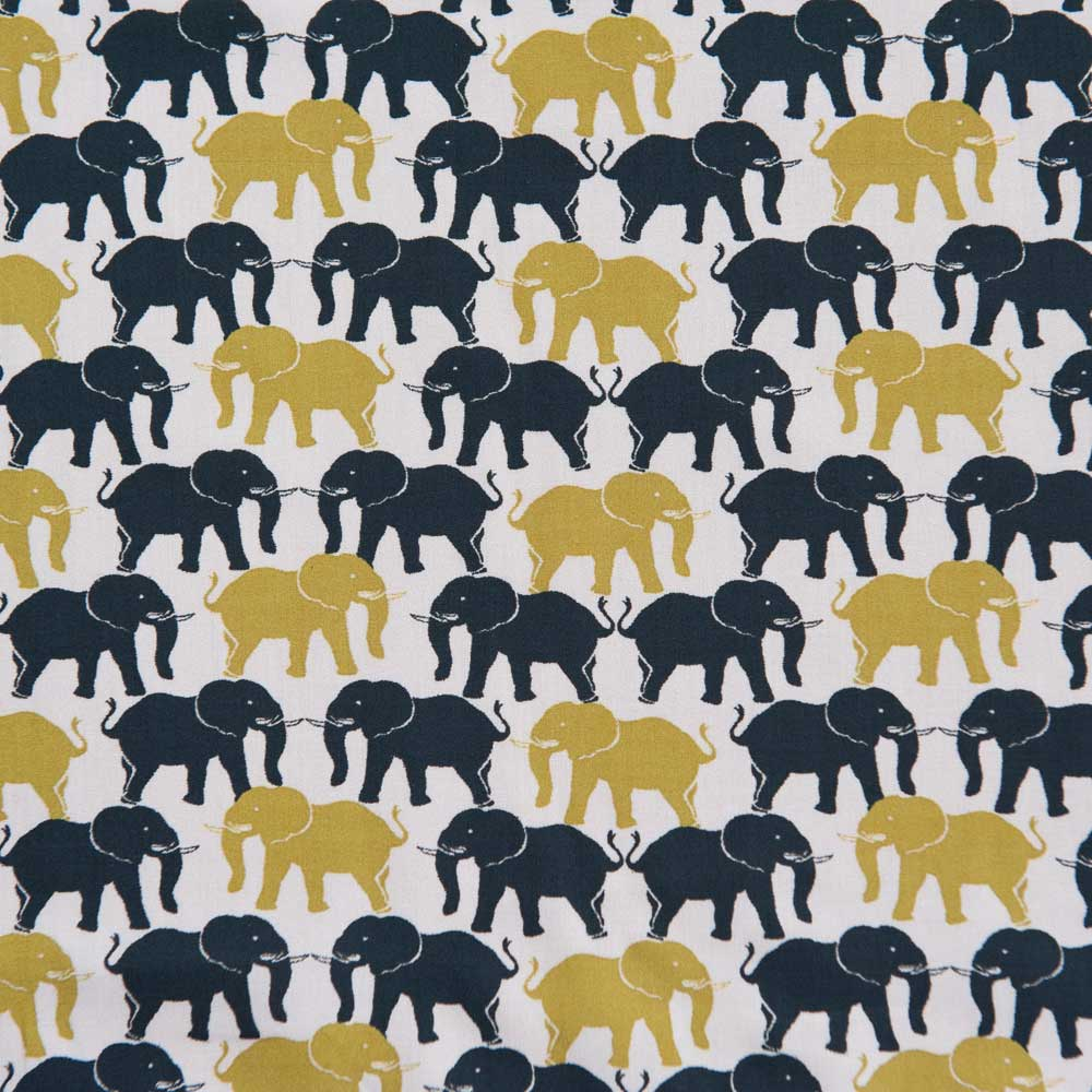 Noble Elephance Cotton Lawn