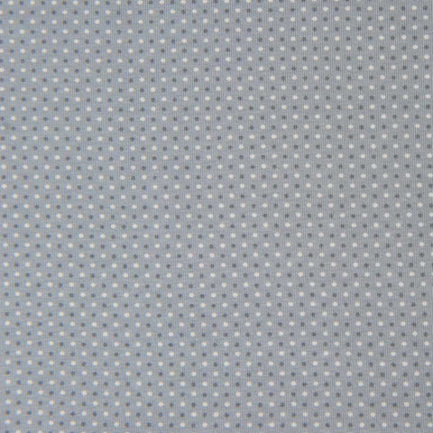 Grey Spotty Cotton Jersey by Stof Fabrics