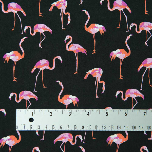 Flamingoes Viscose