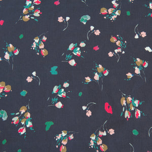 Pretty Floral Polyester