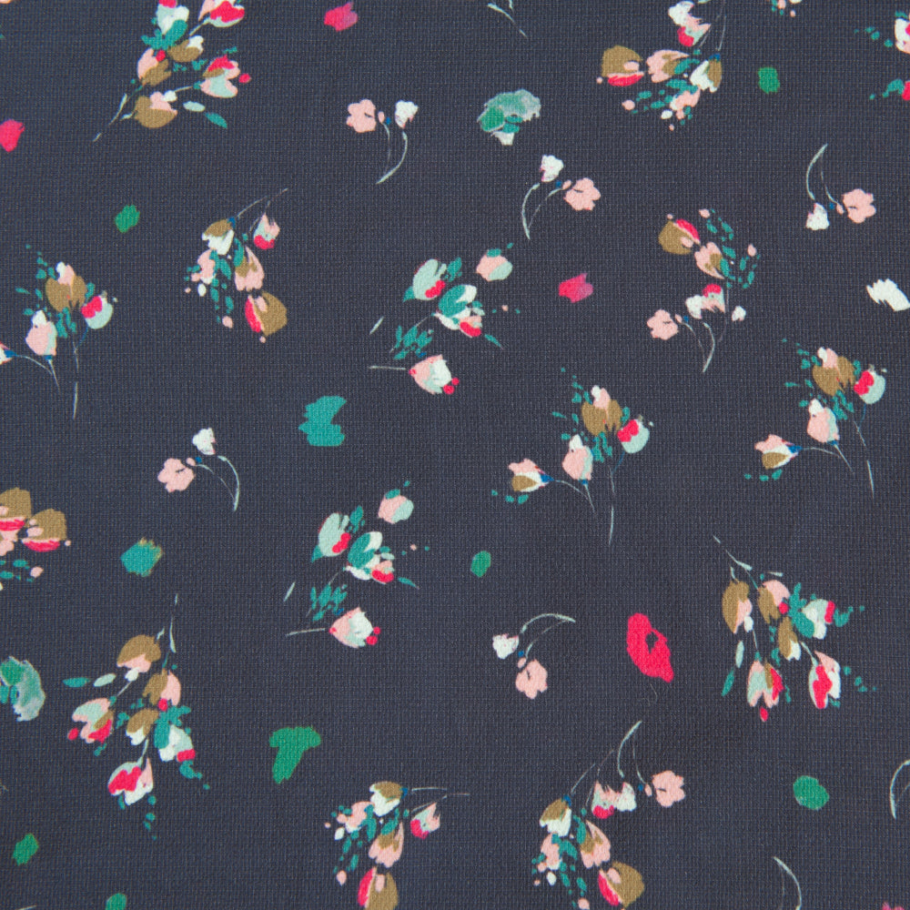 Pretty Floral Polyester - 1.5m Piece