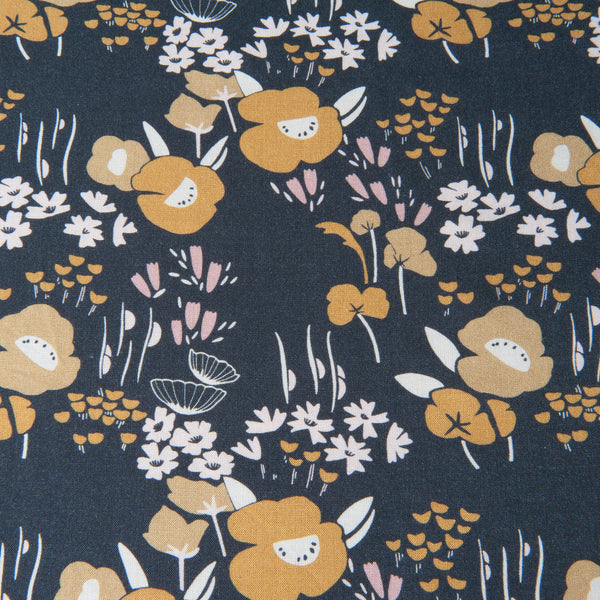 Dashwood Studio - Dovestone Floral Rayon Dressmaking Fabric - 93cm Piece