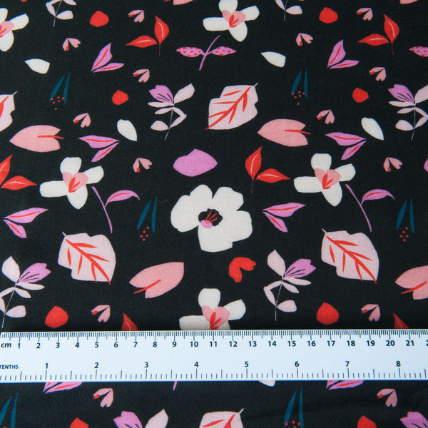 Dashwood Studio - Soiree Playful Rayon Dressmaking Fabric
