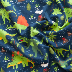 Dinosaur Cotton Jersey