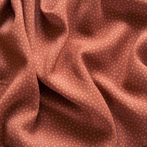 Dotty About Dots Viscose in Cinnamon by Lady McElroy