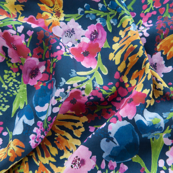 Field of Flowers Viscose by Lady McElroy