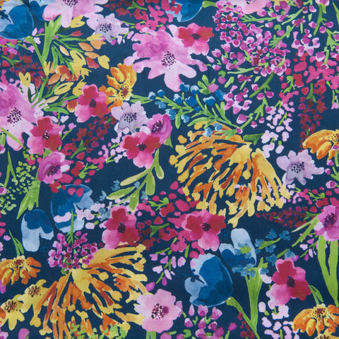 Field of Flowers Viscose by Lady McElroy - 1.2m Piece
