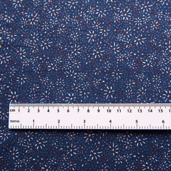 Fireworks Viscose Dress Fabric