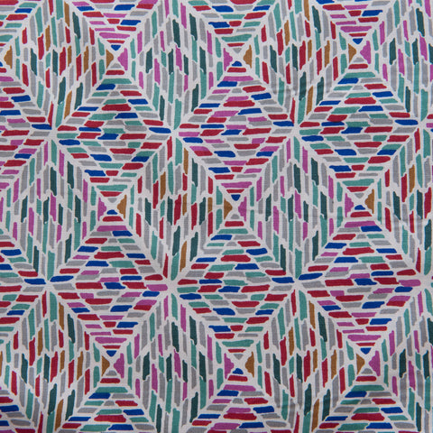 Geometric Pima Cotton Lawn