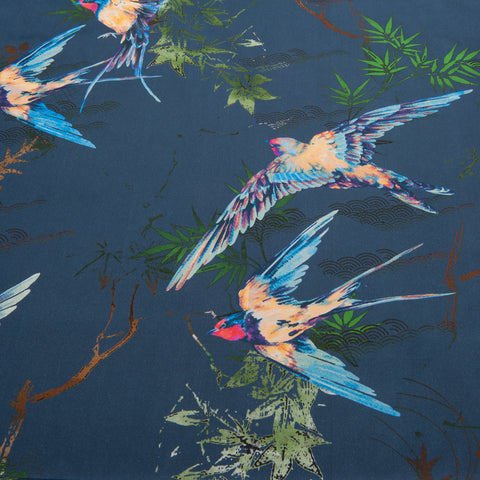Lady McElroy - Mediterranean Swallows Cotton Sateen