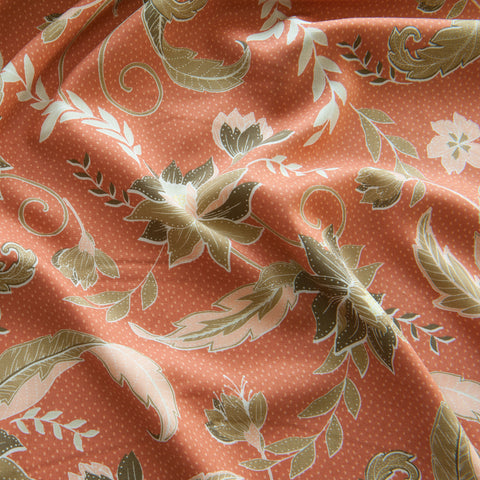 Maisie Viscose in Apricot