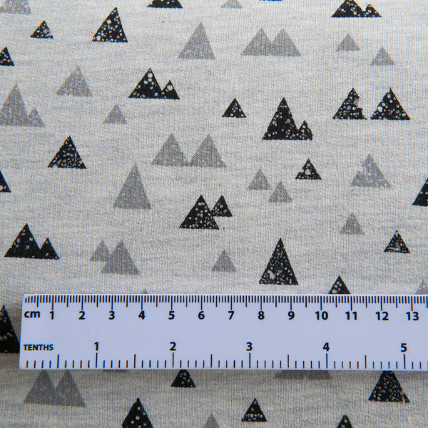 Mountains Brushed Back Sweatshirt by Stof Fabrics