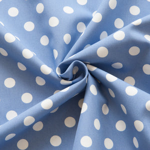 Polka Dot Cotton Poplin
