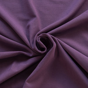 Purple Viscose Jersey