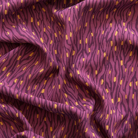 River Viscose in Purple