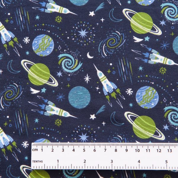 Space Cotton Jersey