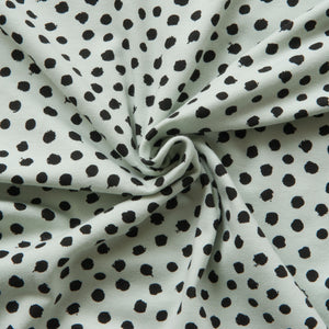 Spotty Organic Cotton Jersey in Mint
