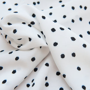 Spotty Viscose Crepe