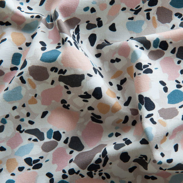 Stained Glass Cotton Jersey by Stof Fabrics