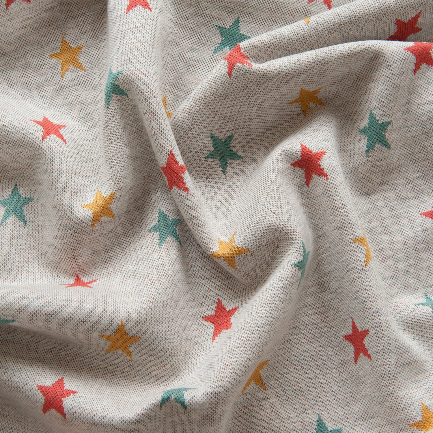 Stars Jacquard Knit in Ecru