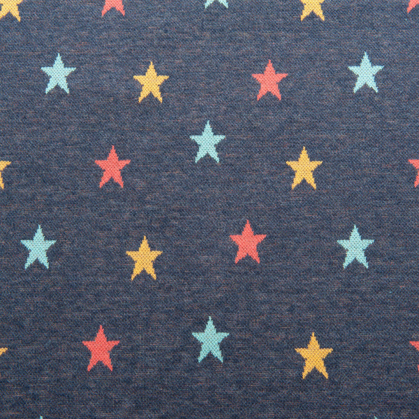 Stars Jacquard Knit in Indigo - For Emma