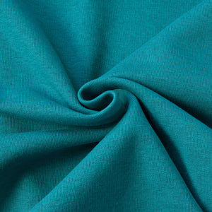 Sweatshirting in Teal - 30cm Piece