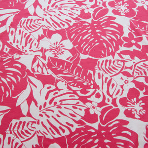 Tropical Viscose Jersey in Pink