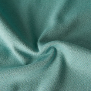 Tubular Ribbing in Light Teal