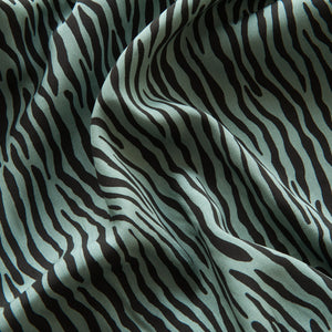 Zebra Viscose in Green