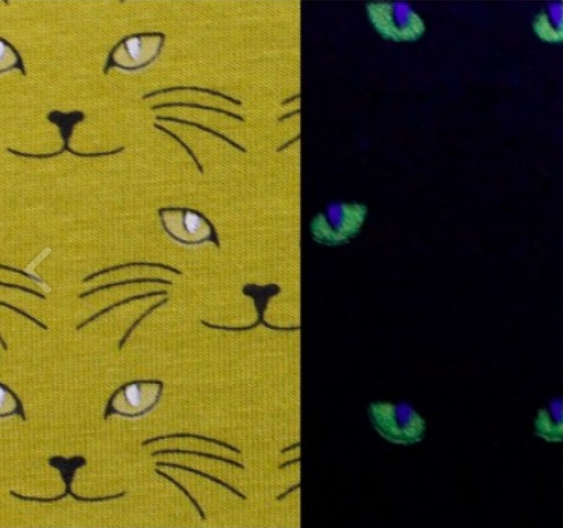 Glow in the Dark Cat Jersey