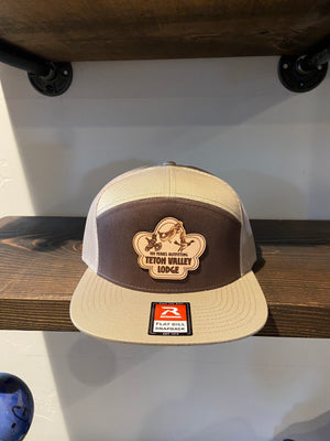 TVL Outfitters Leather Patch Snapback