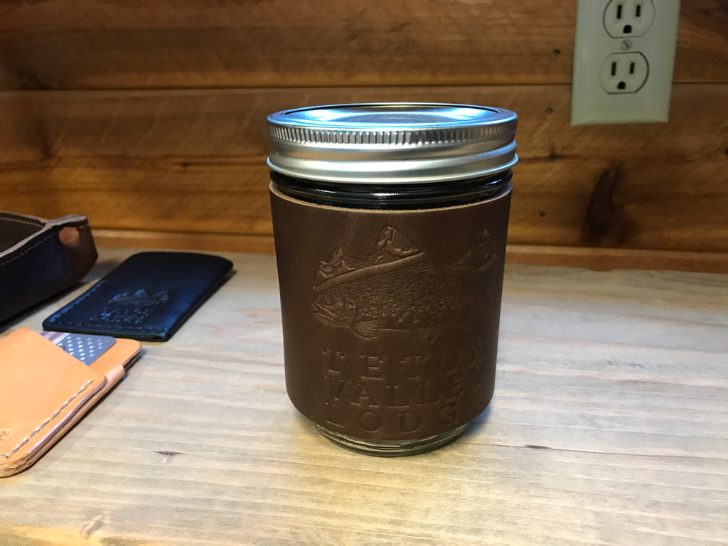 Lifetime Leather Goods -Mason Jar Koozie