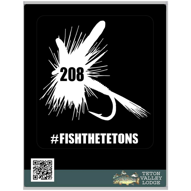 208 Fly Sticker