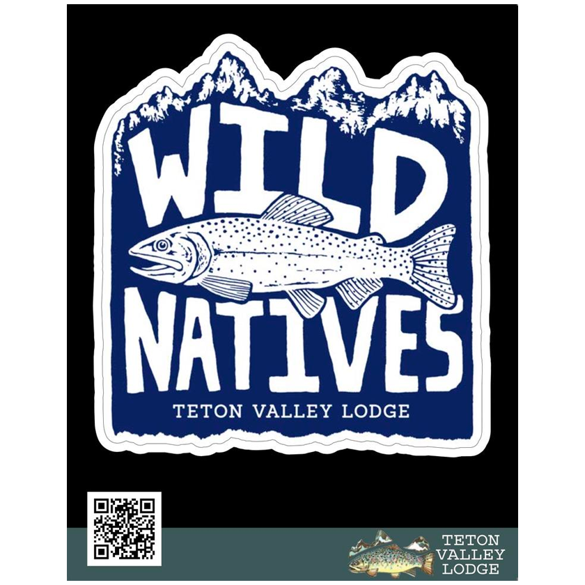Wild Natives Sticker