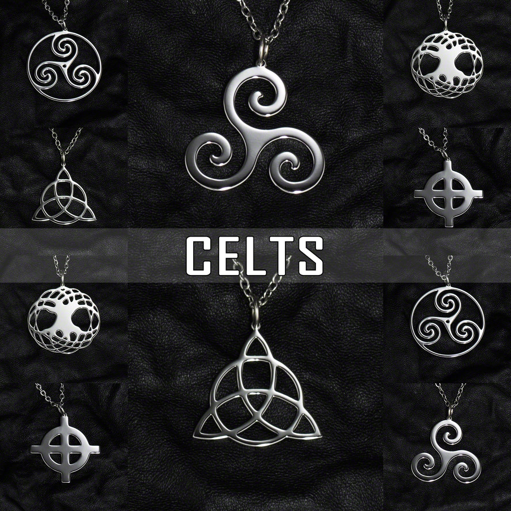 Stainless Steel Jewelry with Celtic Symbols