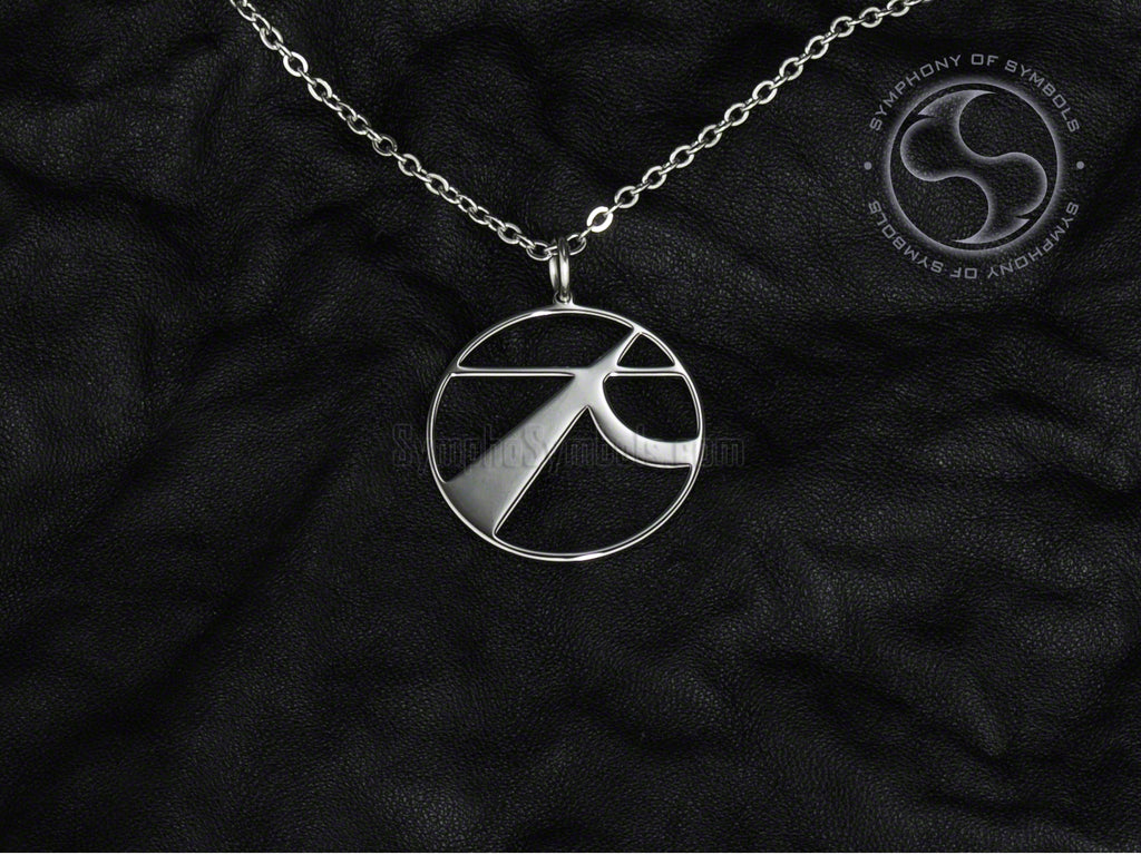 Stainless Steel Necklace with Kudo Symbol