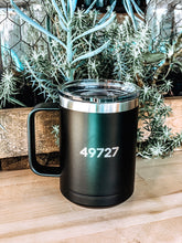 Load image into Gallery viewer, Black Tumbler Mug