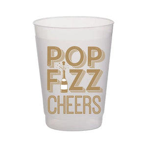 Pop Fizz Cheers Frost Flex Cup Set/10