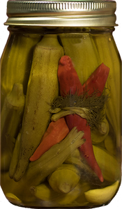 Pickled Okra 16 oz. Jar