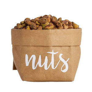 Smalll Holder Natural -Nuts w/White Font
