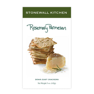 Rosemary Parmesan Crackers